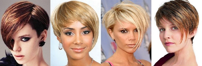 Короткие причёски название и фото